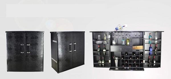 Weinschrank Weinbar Weinregal Weintruhe Barschrank Bar Hausbar Barkoffer Schrankkoffer Whiskeybar An